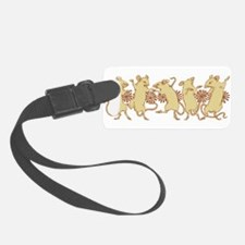 dancing mice Luggage Tag