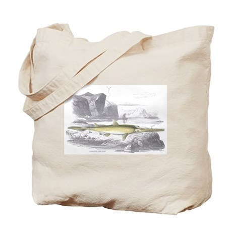 Swordfish Fish Tote Bag