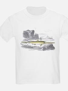 Sawfish Fish (Front) Kids T-Shirt