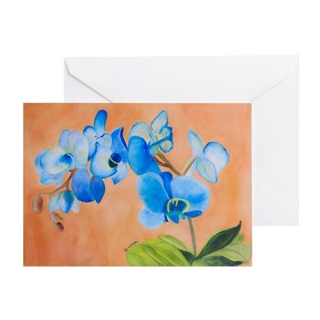 Blue Mystique Greeting Card