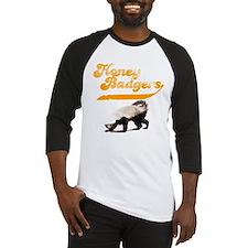 TEAM Honey Badger Vintage Baseball Jersey