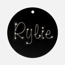 Rylie Spark Ornament (Round)