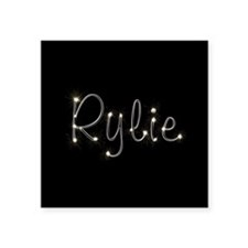 "Rylie Spark Square Sticker 3"" x 3"""