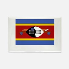Swaziland Flag Picture Rectangle Magnet