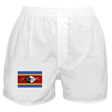 Swaziland Flag Picture Boxer Shorts