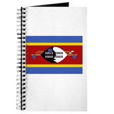Swaziland Flag Picture Journal