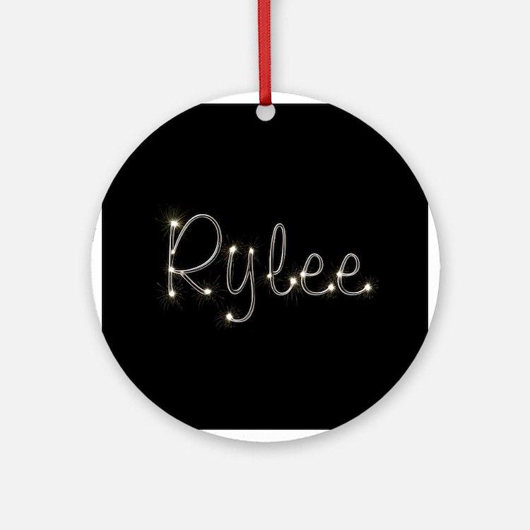 Rylee Spark Ornament (Round)