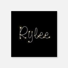 "Rylee Spark Square Sticker 3"" x 3"""
