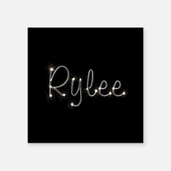 "Rylee Spark Square Sticker 3"" x 3"""