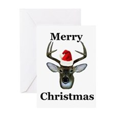 Deer Christmas Card