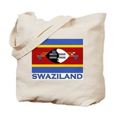 Swaziland Flag Stuff Tote Bag