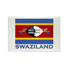 Swaziland Flag Stuff Rectangle Magnet
