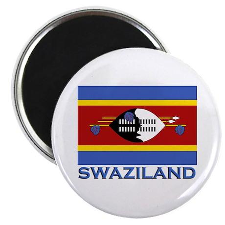 Swaziland Flag Stuff Magnet