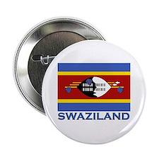 Swaziland Flag Stuff Button