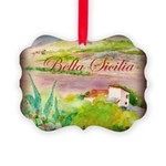 Bella Sicilia Picture Ornament