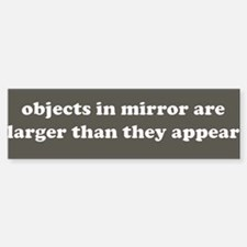 Objects in Mirror - Royal Grey