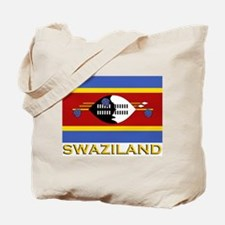 Swaziland Flag Gear Tote Bag