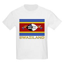 Swaziland Flag Gear Kids T-Shirt