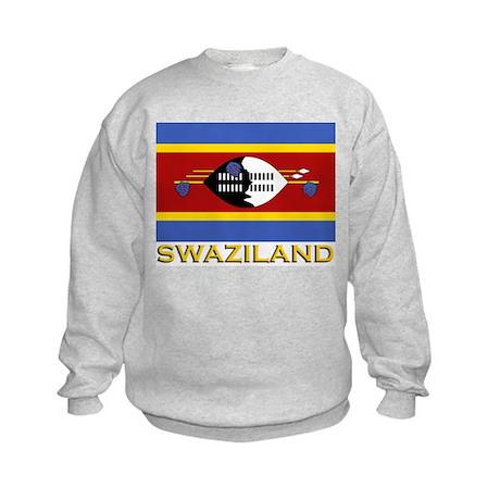 Swaziland Flag Gear Kids Sweatshirt