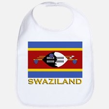 Swaziland Flag Gear Bib