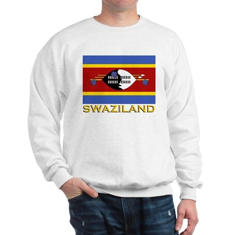 Swaziland Flag Gear Sweatshirt