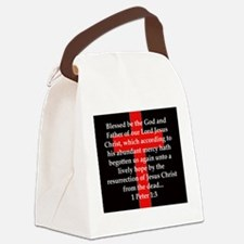 1 Peter 1-3 Canvas Lunch Bag