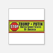 STOP TRUMP PUTIN Sticker