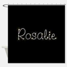 Rosalie Spark Shower Curtain