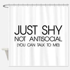 Just Shy Shower Curtain