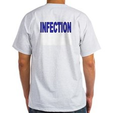 STAFF INFECTION Ash Grey T-Shirt