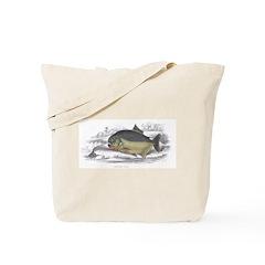 Serrasalmo Piranha Fish Tote Bag
