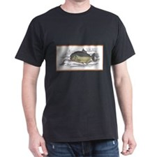 Serrasalmo Piranha Fish (Front) Black T-Shirt