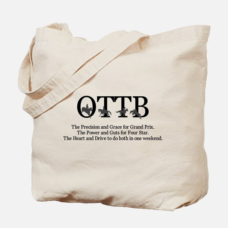 OTTB the Everything horse Tote Bag