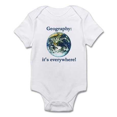 Geography Infant Creeper