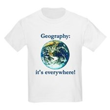 Geography Kids T-Shirt
