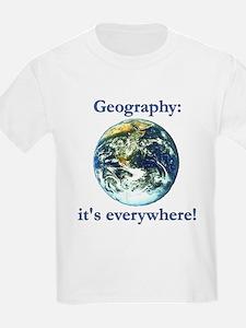 Geography Kids T-Shirt