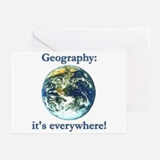 Geography Greeting Cards (Pk of 10)