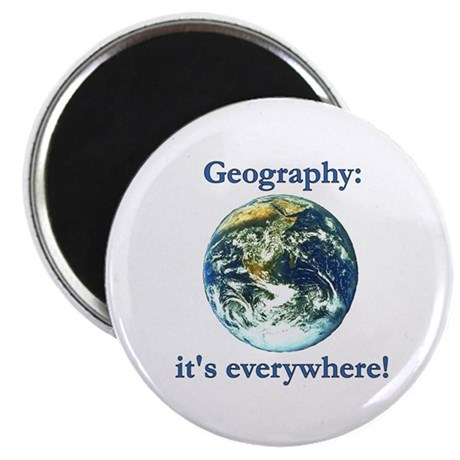 "Geography 2.25"" Magnet (10 pack)"