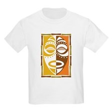 Africa Tribal Art Kids T-Shirt