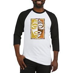 Africa Tribal Art Baseball Jersey