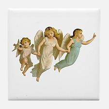 Angel Children Tile Coaster