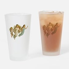 Angel Children Drinking Glass