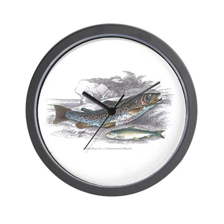 Trout Fish Wall Clock