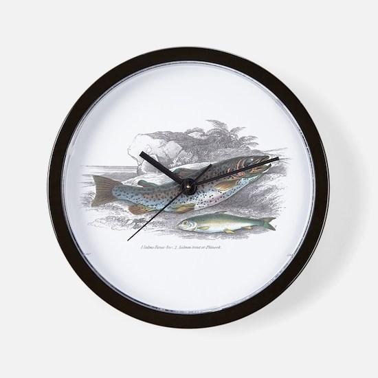 Trout Fish Wall Clock