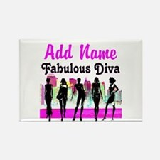 FABULOUS DIVA Rectangle Magnet