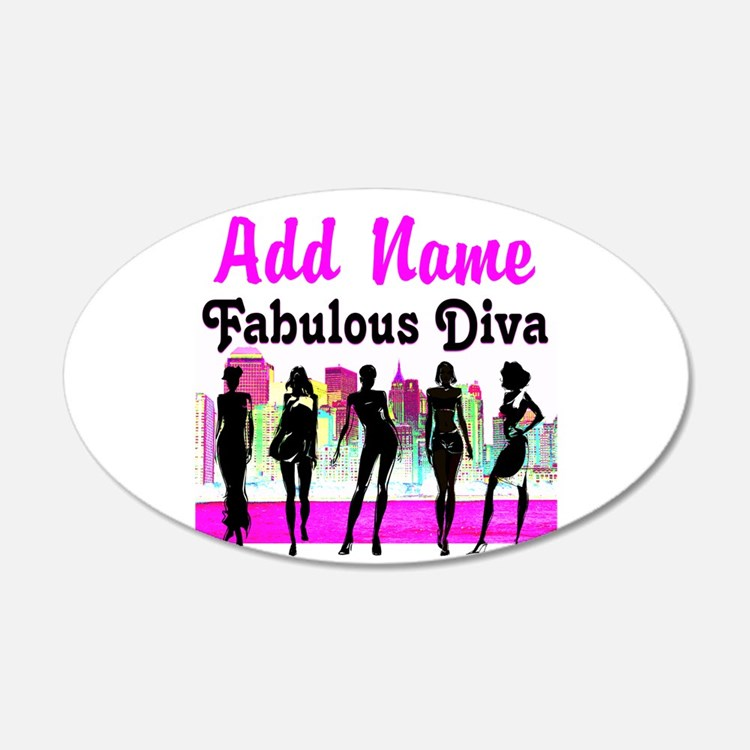 FABULOUS DIVA Wall Decal