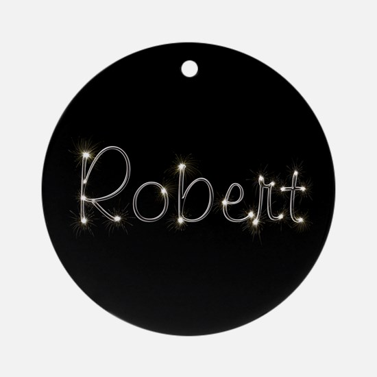 Robert Spark Ornament (Round)
