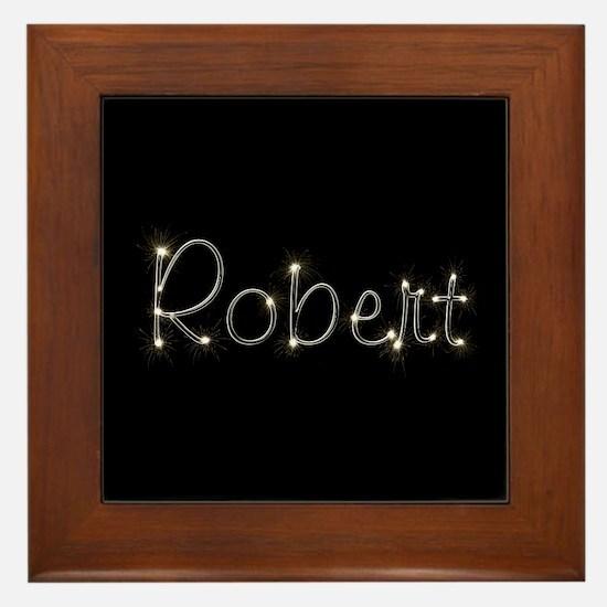 Robert Spark Framed Tile