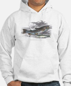 Trout Fish (Front) Hoodie