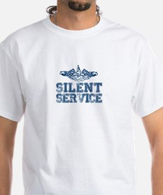 Silent Service with Submarine Dolphins Shirt